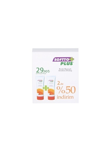 Softto Plus Reishi Mantarlı Peeling ( 2'li Set ) Renksiz